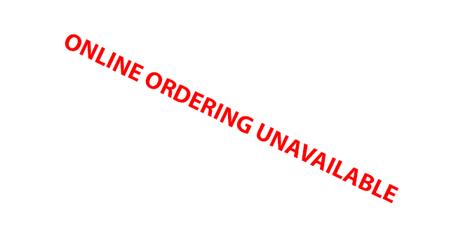 Online ordering unavailable
